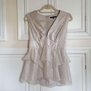 Nanette Lepore ruffled blouse